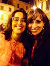 Silvia, my forever friend in Sant Angelo.